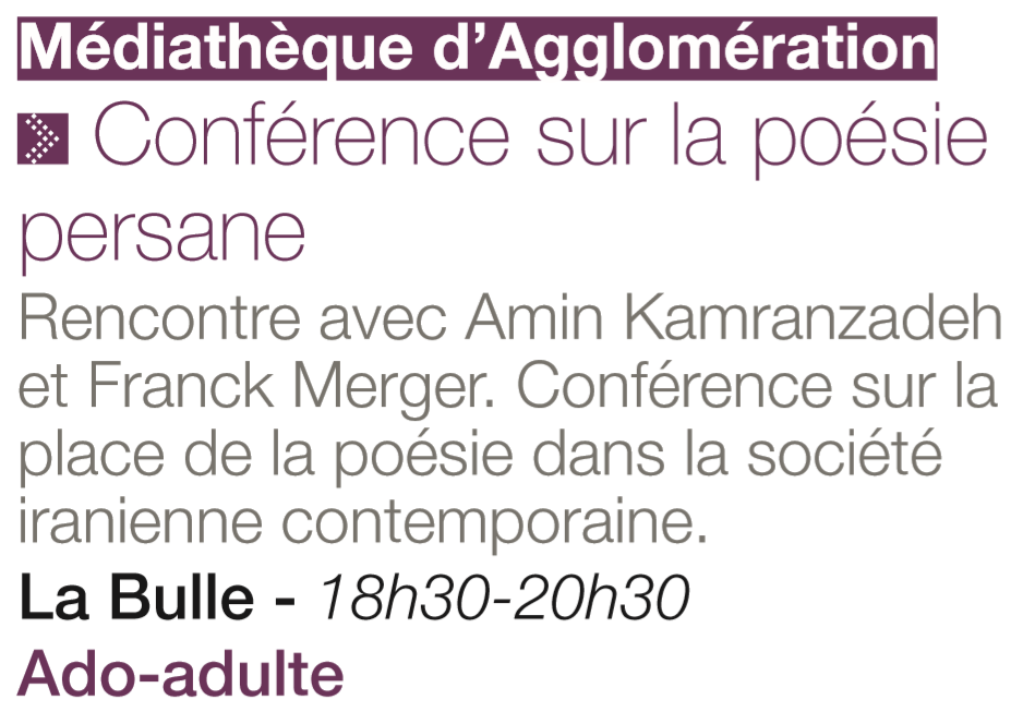 Draguignan Conférence